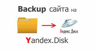 Backup на смонтированный Yandex Disk