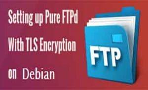 Настройка Pure-FTPd для работы с TLS Debian