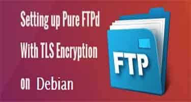 Настройка Pure-ftpd для работы с tls на Debian